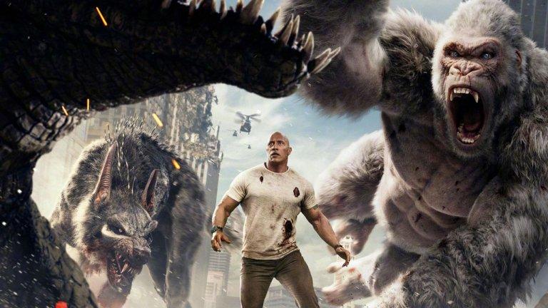 【影評】《毀滅大作戰》巨石打巨獸 巨石強森與布萊德派頓合作就是穩