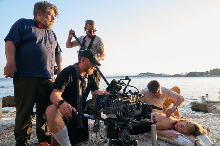 Netflix 電影《蝴蝶夢》拍攝片場。