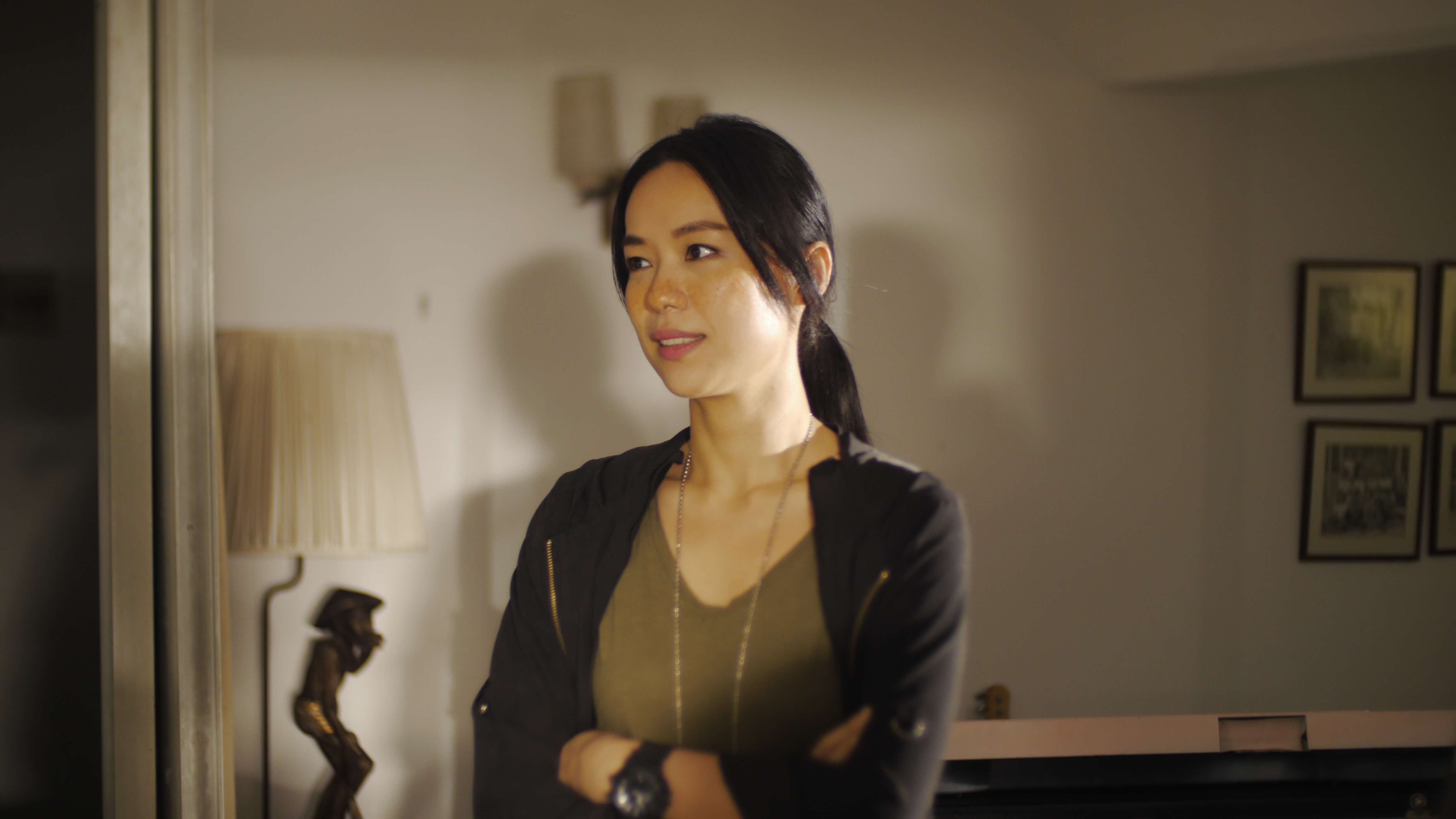 HBO Asia 原創影集《邊界線》劇照。