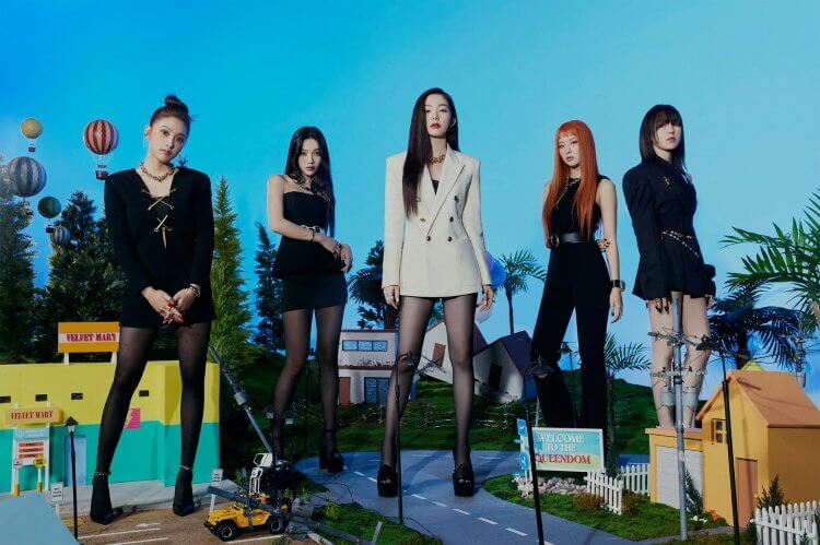 Red Velvet《Queendom》概念照