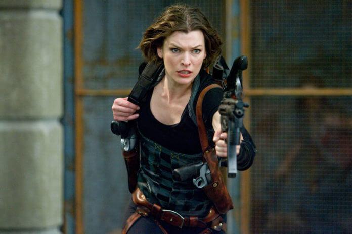 《惡靈古堡》電影版由蜜拉喬娃維琪主演。