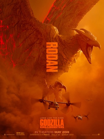 電影《哥吉拉 II:怪獸之王》中的拉頓。