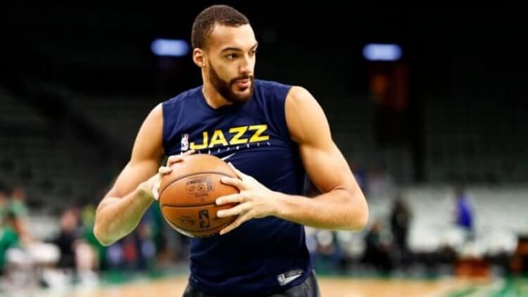 Rudy Gobert 於 3 月 11 日確診武漢肺炎後,NBA宣布停賽。