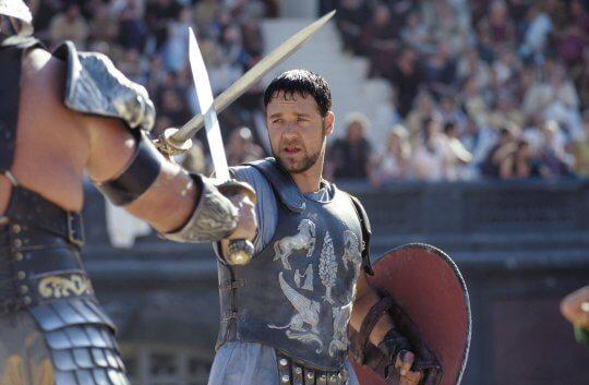 《神鬼戰士》(Gladiator) 劇照。