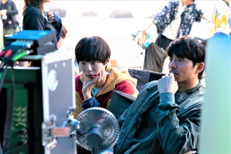 《永生戰》朴寶劍與孔劉。