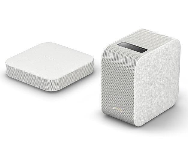 讓家用投影機輕鬆把家變成電影院:SONY LSPX-P1 可攜式超短焦投影機