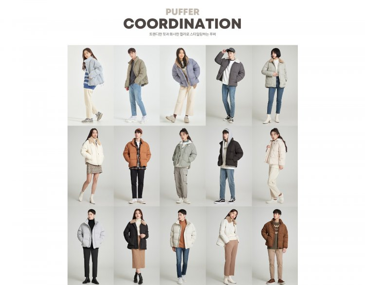 SPAO推出多款短版羽絨衣