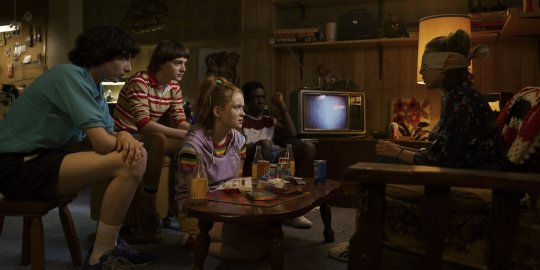 《怪奇物語》(Stranger Things) 第三季劇照。