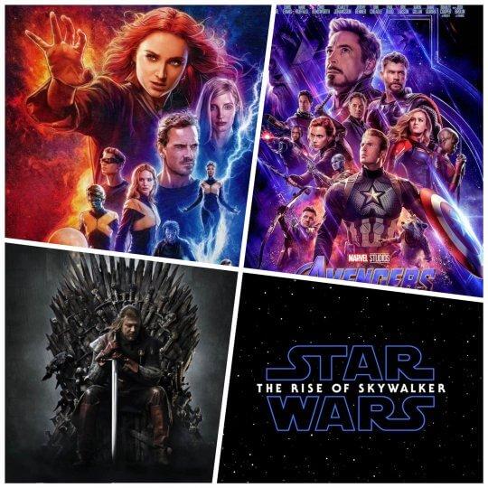 《X 戰警:黑鳳凰》與《復仇者聯盟 4》《冰與火之歌》還有《星際大戰》都走向完結