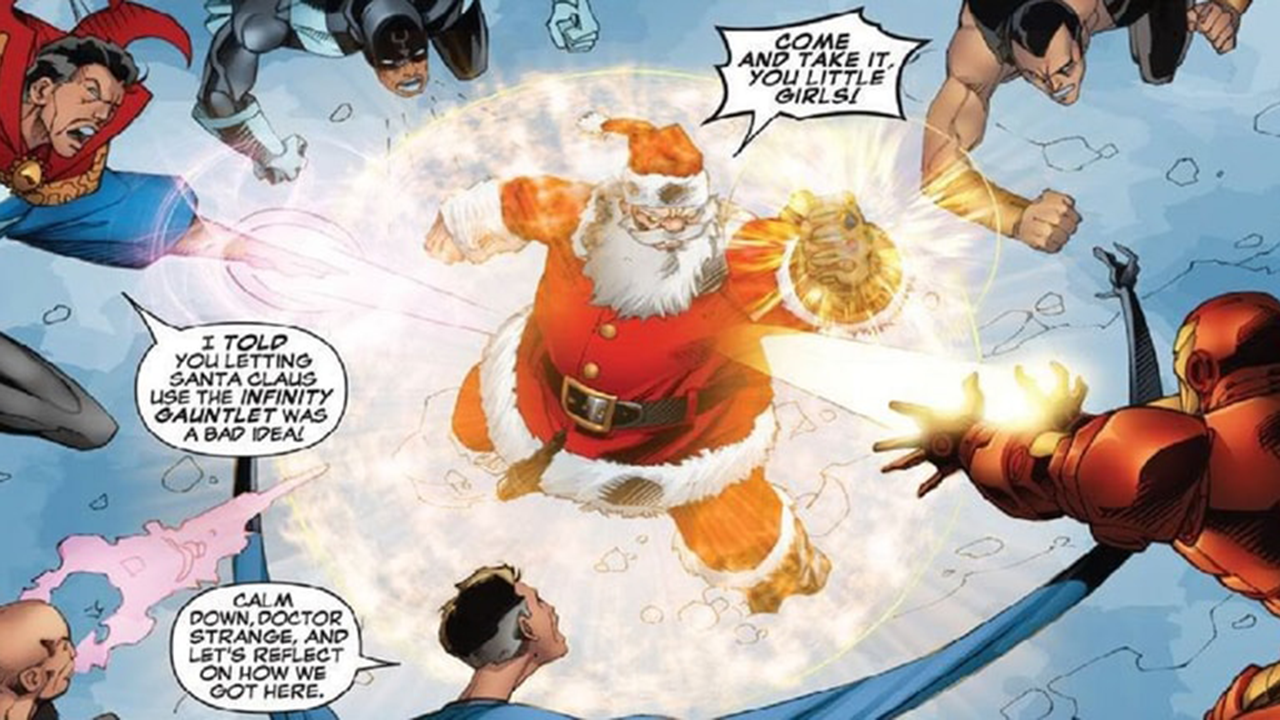 當聖誕老人戴上無限手套!漫威的聖誕節,沒有極限──首圖