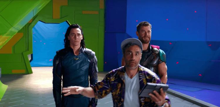 《雷神索爾3:諸神黃昏》(Thor: Ragnarok) 拍攝花絮。