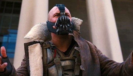 經典反派之一的「班恩」(Bane)