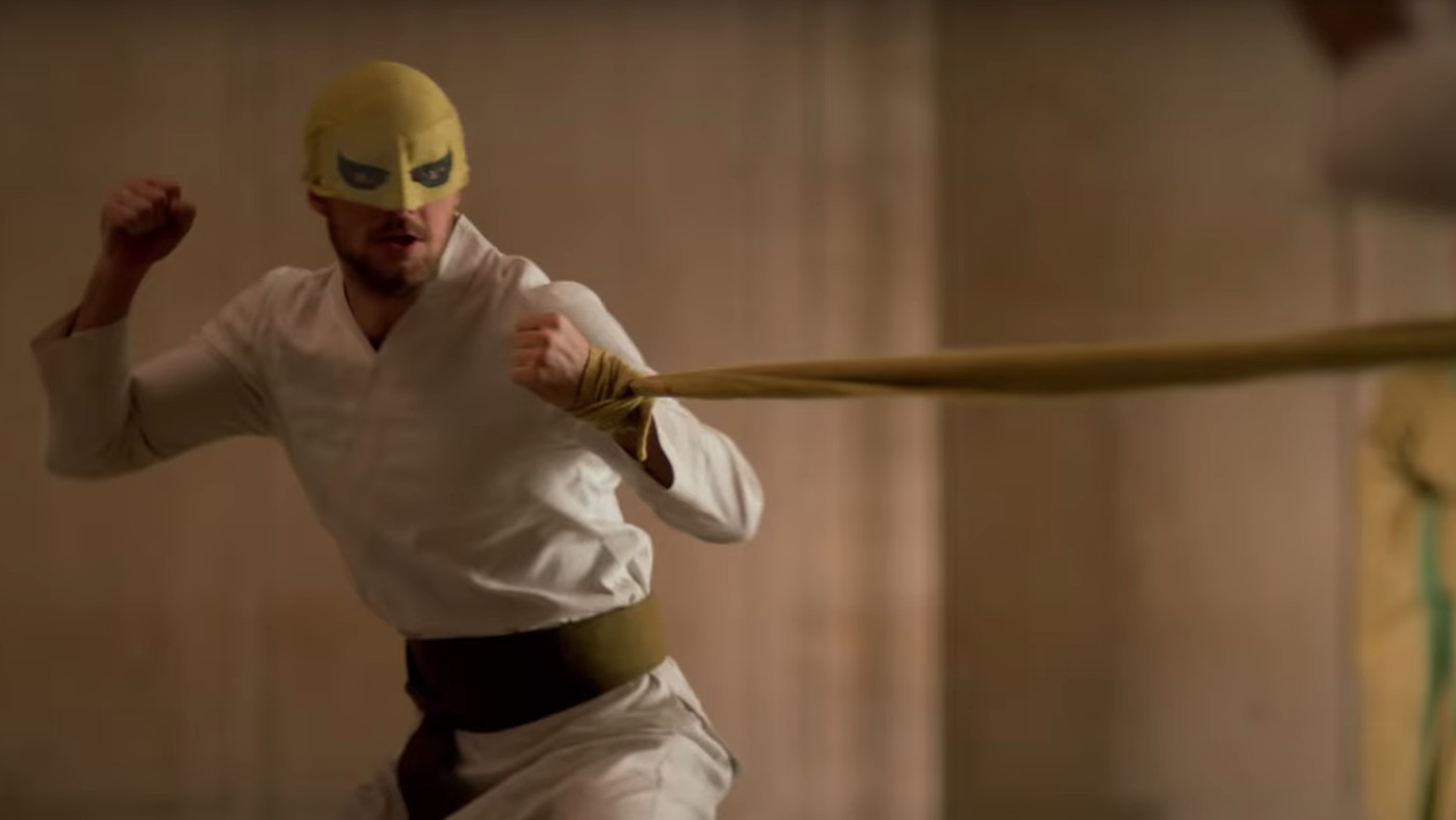 《漫威鐵拳俠》劇照。