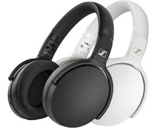 輕鬆升級觀看影劇的影音體驗,Sennheiser HD 350BT 耳罩式耳機。