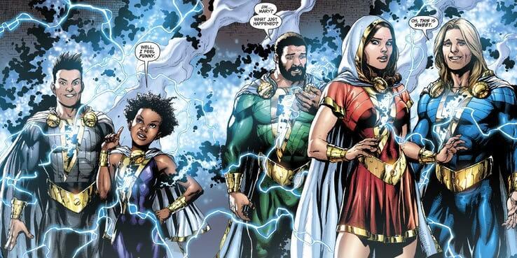 日後漫畫中出現的「沙贊家族」成員們。