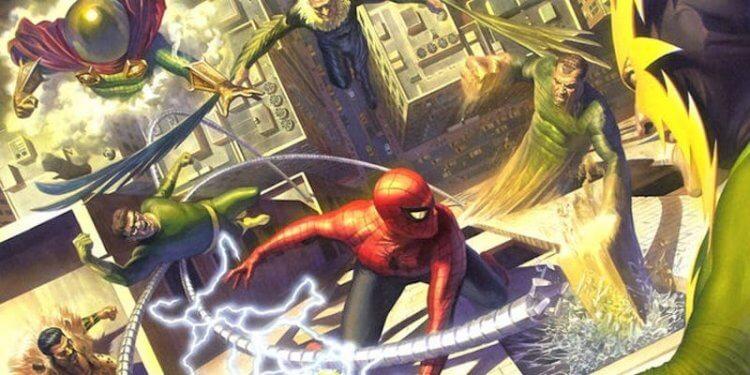 蜘蛛人漫畫。