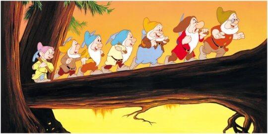 《白雪公主》動畫。