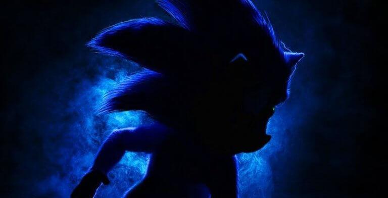 遊戲改編真人版電影《音速小子》前導海報。