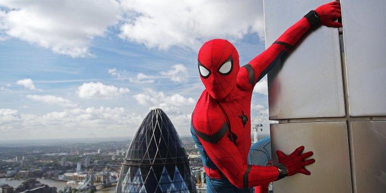 湯姆霍蘭德 (Tom Holland) 飾演的「蜘蛛人」(Spider-Man) 受歡迎。