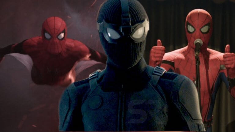 小蜘蛛幹嘛偷穿黑寡婦的戰服啦?湯姆霍蘭德表示:「《蜘蛛人:離家日》裡最喜歡這套全黑蜘蛛裝」