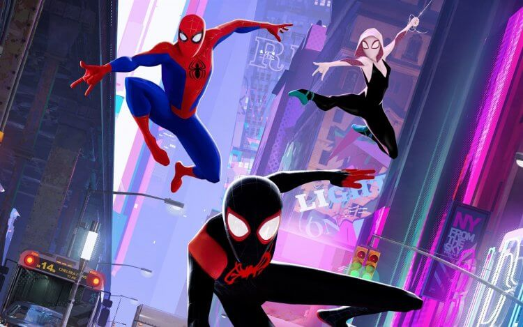 《蜘蛛人:新宇宙》劇照。