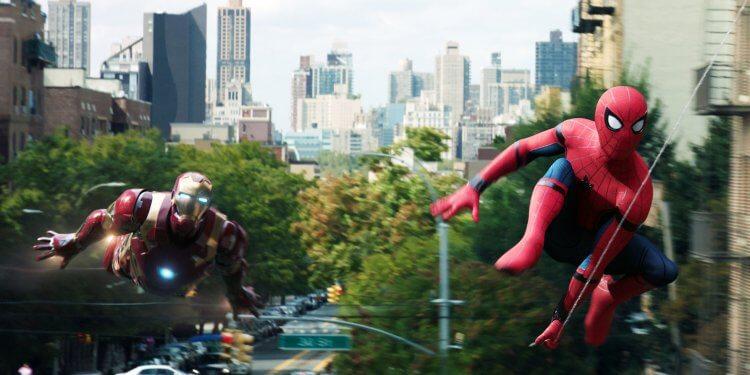 《蜘蛛人:返校日》電影劇照。