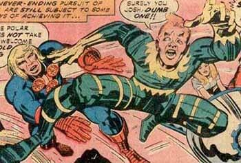 《永恆族》漫畫中的斯普萊特 (Sprite) 。