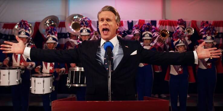 影集《怪奇物語》第 3 季預告畫面彩蛋解析:凱瑞艾文斯 (Cary Elwes) 所飾演的賴瑞克萊市長。