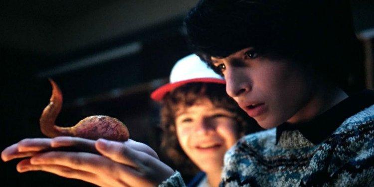 在話題美劇影集《怪奇物語》第二季中,達斯汀給威爾看他詭異的寵物「達達」。