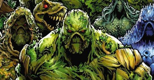 《沼澤異形》(Swamp Thing) 漫畫。