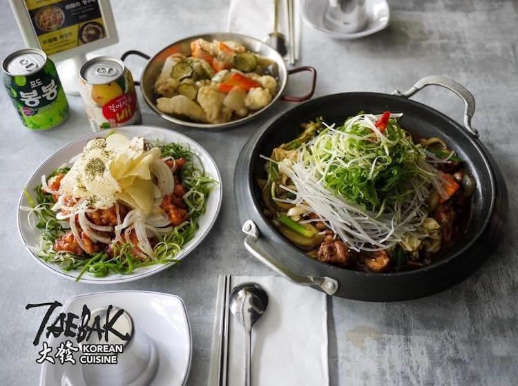 TAEBAK 大發韓式特色料理。