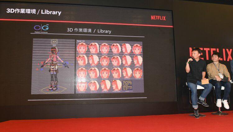 在這場講座中,除了宣傳《伊甸》外,入江泰浩與彭喜浩導演也向觀眾說明了種種技術上的挑戰。