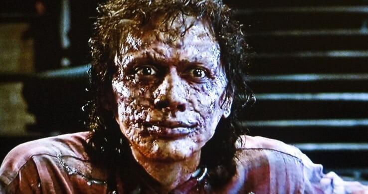 傑夫高布倫 1986 年《變蠅人》。