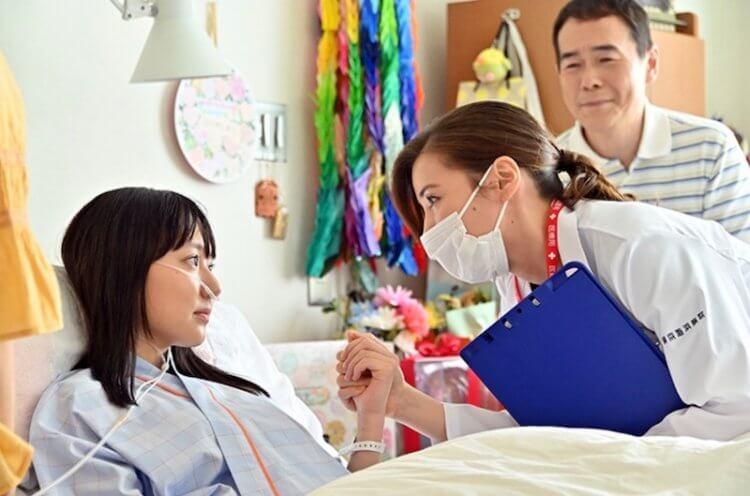 仲里依紗日劇《TOKYO MER:Mobile Emergency Room 行動急診室》劇照。