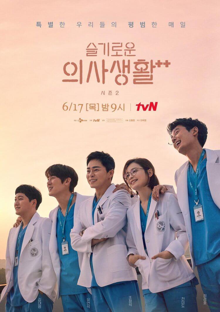 韓劇《機智醫生生活2》海報。