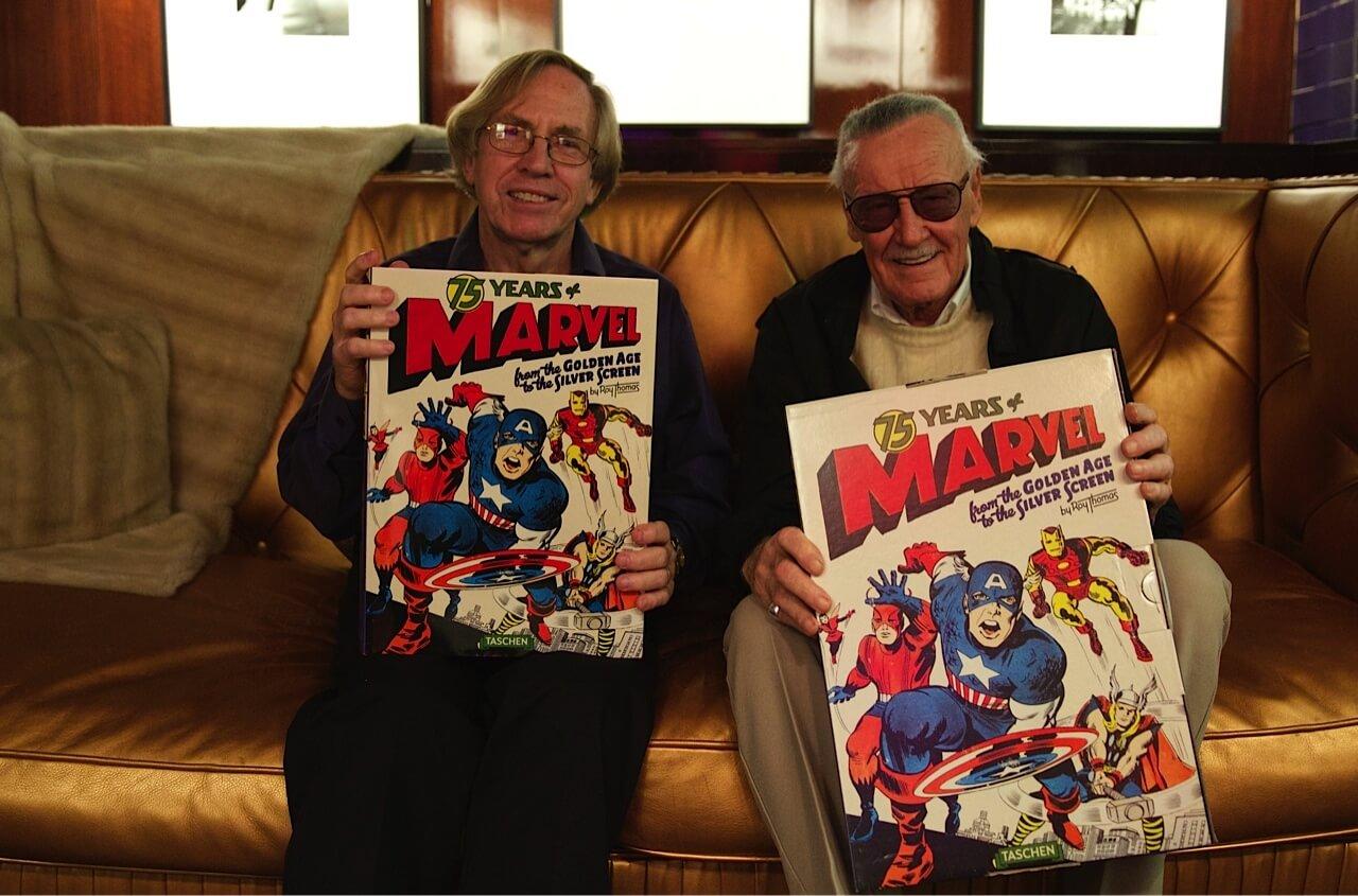與蜘蛛人之父史丹李 (Stan Lee) 笑談往事的最後一個週六下午首圖