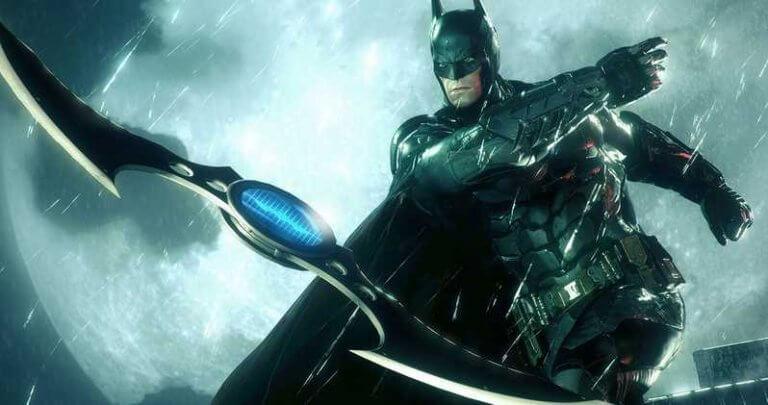 《蝙蝠俠:阿卡漢》遊戲畫面
