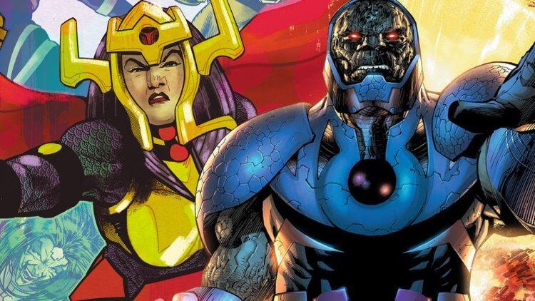 絕不輸陣!達克賽德、復仇女神戰隊將在 DC 全新超級英雄電影《新神族》(New Gods)登場首圖