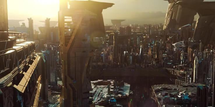 《驚奇隊長》片中所出現的,位在哈拉星 (Hala) 上的克里人帝國。