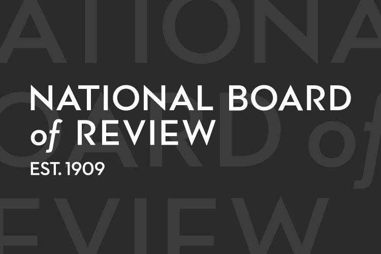 美國 國家評論協會 (The National Board of Review,NBR) 公開 2019 年度得獎名單