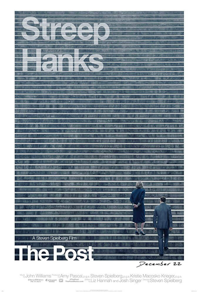 郵報:密戰 電影海報