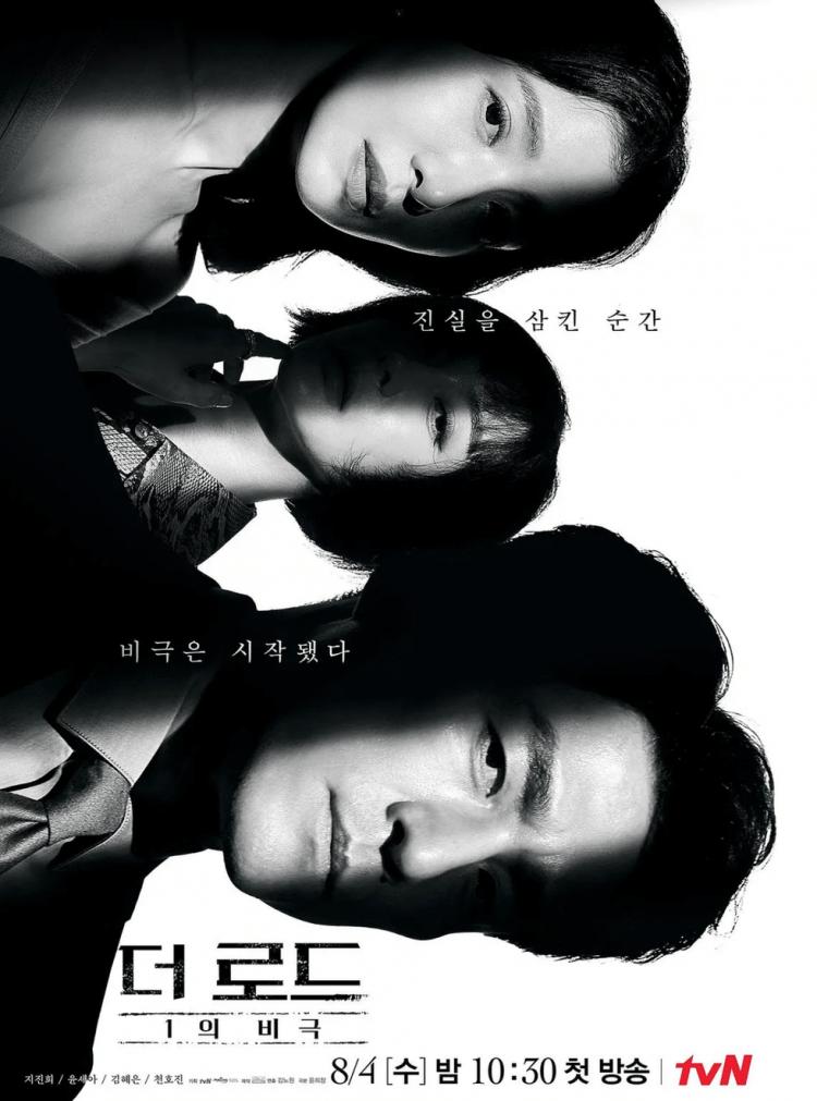 《The Road:1 的悲劇》海報。