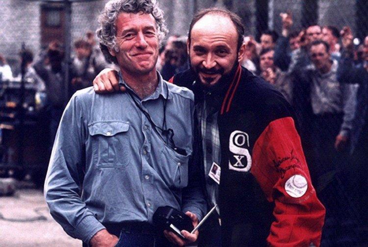 《刺激 1995》電影導演和攝影師合照。