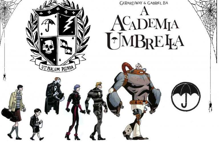 由黑馬漫畫發行,傑洛德威創作的美漫作品《雨傘學院》將於 Netflix 推出真人影集。