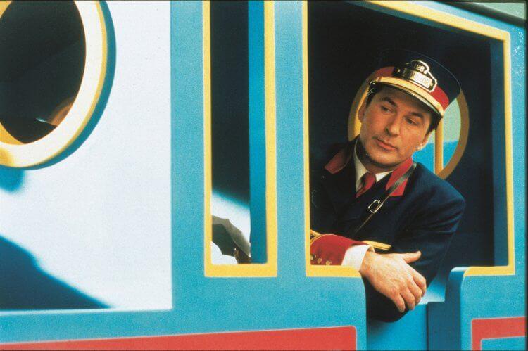 《湯瑪士小火車:湯瑪士和神奇鐵路》亞歷鮑德溫。