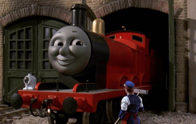 《湯瑪士小火車:湯瑪士和神奇鐵路》劇照。