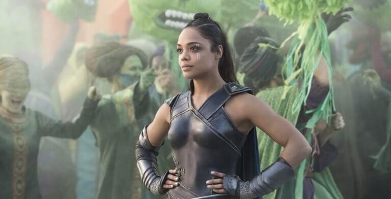 《雷神索爾 3:諸神黃昏》中由太殺湯譜森飾演的阿斯嘉女武神「瓦爾基麗」。