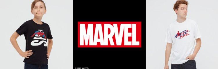 UT 與 Marvel 漫威超級英雄聯名推出一系列主題服飾。