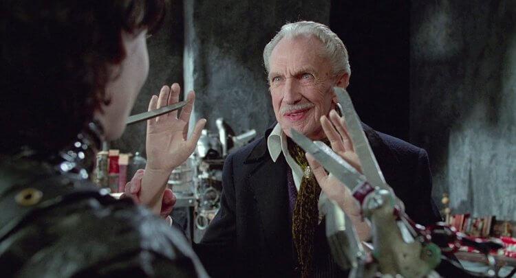 《剪刀手愛德華》文森普萊斯驚喜客串。