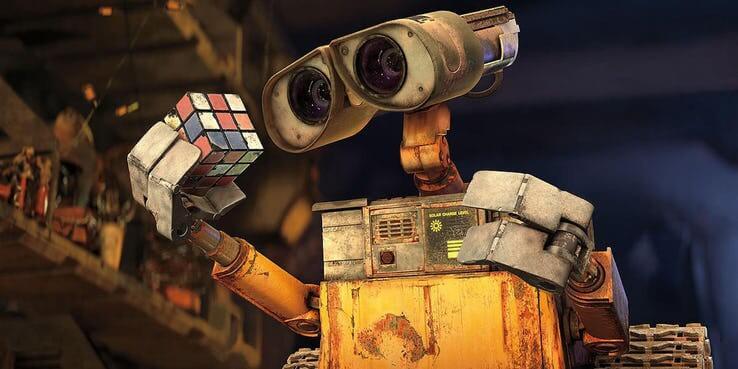 《瓦力》(Wall-E) 劇照。